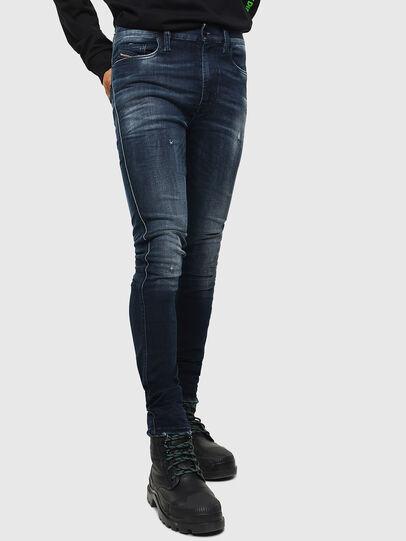 Diesel - D-Istort 0098R, Dark Blue - Jeans - Image 1