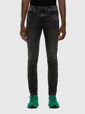 D-Reeft JoggJeans 009FZ, Black/Dark grey - Jeans