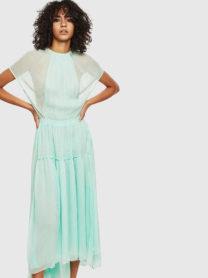 Diesel - D-TANGI, Azure - Dresses - Image 1