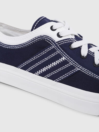 Diesel - S-ASTICO LOW LACE, Blue/White - Sneakers - Image 4