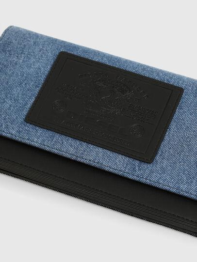 Diesel - DIPSIEVOLUTION, Blue/Black - Small Wallets - Image 4