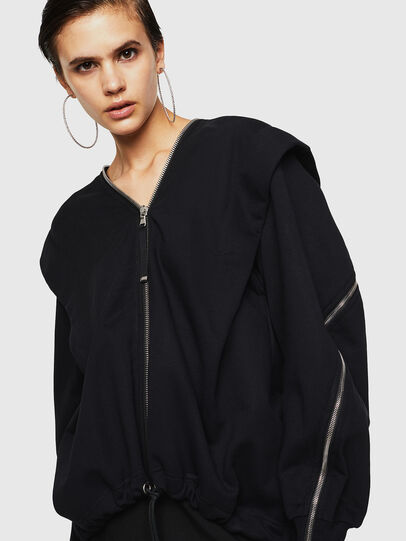 Diesel - F-HOSI, Black - Sweaters - Image 1