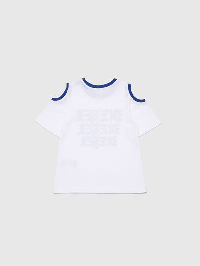 Diesel - TANIURAB-R, White - T-shirts and Tops - Image 2