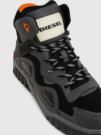 Diesel - S-RUA SP, Dark grey - Sneakers - Image 5