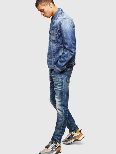 Diesel - Thommer JoggJeans 0870Q, Medium blue - Jeans - Image 6