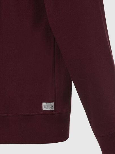 Diesel - UMLT-BRANDON-Z, Bordeaux - Sweaters - Image 4