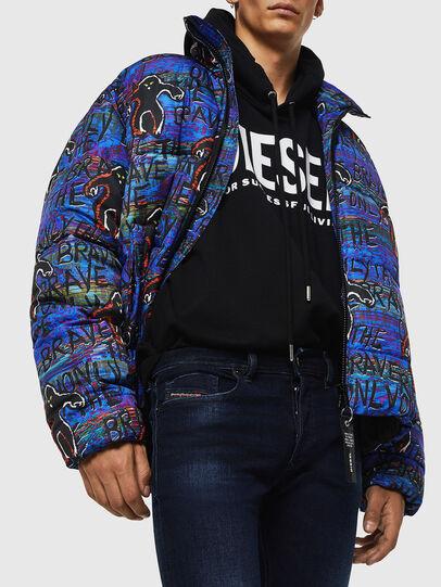 Diesel - Sleenker 083AG, Dark Blue - Jeans - Image 3
