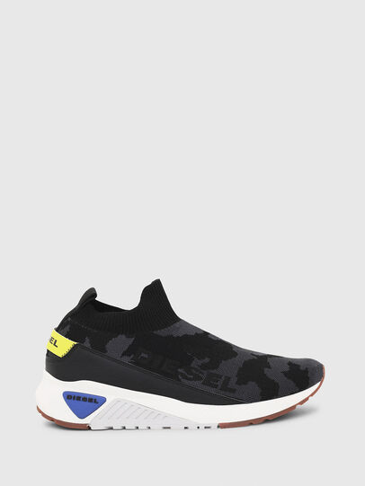 Diesel - S-KB SOCK QB, Black - Sneakers - Image 1