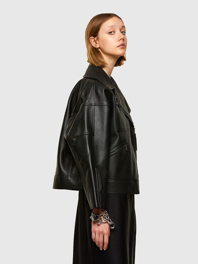Diesel - L-HAZEL,  - Leather jackets - Image 3
