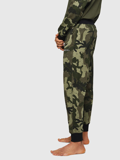 Diesel - UMLB-PETER, Green Camouflage - Pants - Image 4