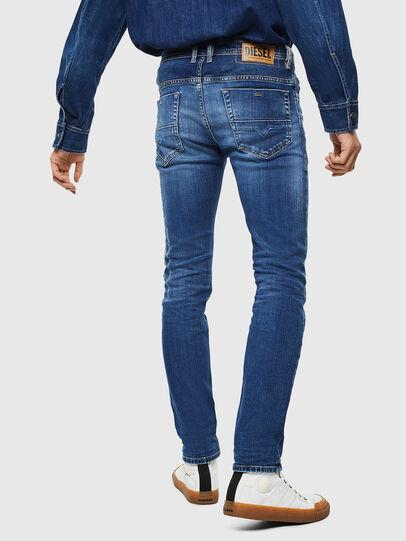 Diesel - Thommer 0097W, Dark Blue - Jeans - Image 2