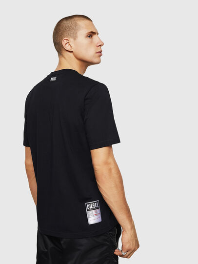 Diesel - T-JUST-B28, Black - T-Shirts - Image 2
