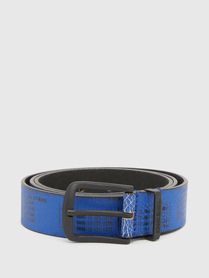 B-DERUB, Black/Blue - Belts