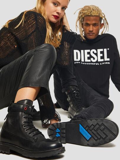 Diesel - D-THROUPER DBB W Z, Black - Ankle Boots - Image 5