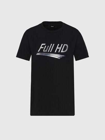 Diesel - T-SILY-E56, Black - T-Shirts - Image 1