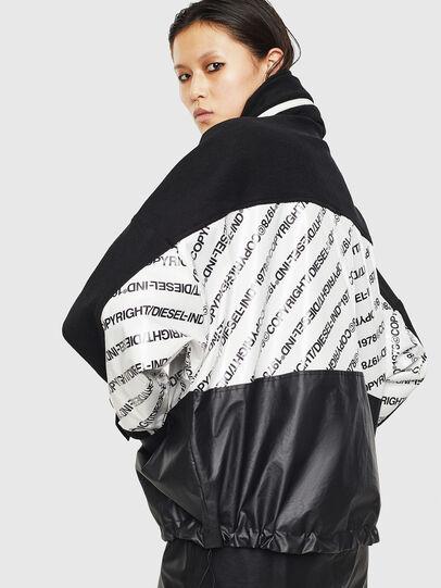Diesel - G-MESHELLE, Black/White - Jackets - Image 2