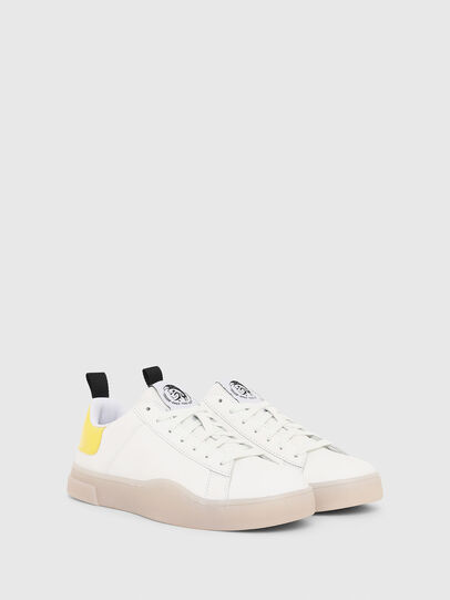 Diesel - S-CLEVER LOW LACE W, White/Yellow - Sneakers - Image 2