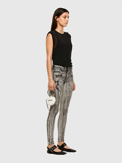Diesel - Slandy 069NH, Light Grey - Jeans - Image 6