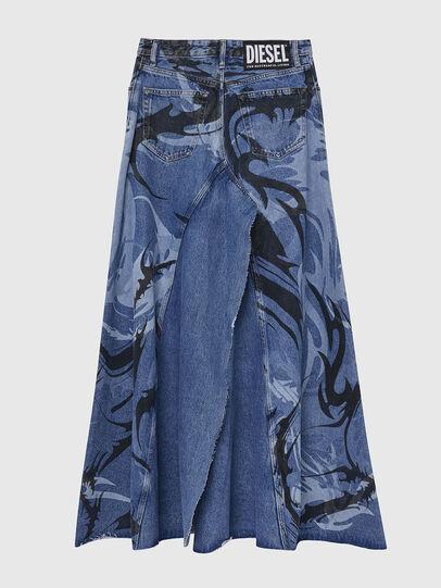 Diesel - DE-SPIZ, Light Blue - Skirts - Image 2