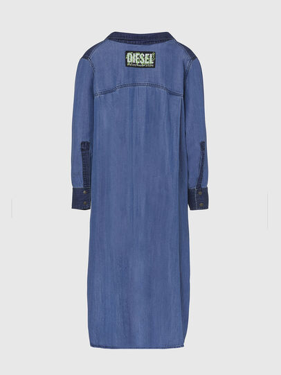 Diesel - DE-NIAVY, Light Blue - Dresses - Image 2