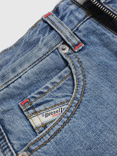 Diesel - PLARZY, Light Blue - Shorts - Image 4