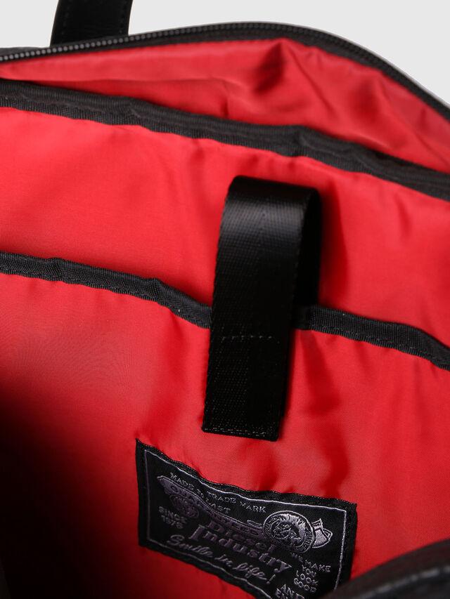 Diesel - F-DISCOVER BRIEFCASE, Black - Briefcases - Image 6