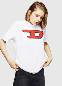 T-JUST-DIVISION-D-FL, White
