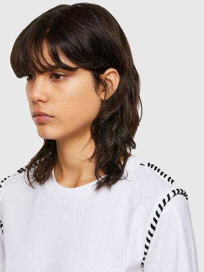 Diesel - T-TWISTY, White - T-Shirts - Image 3