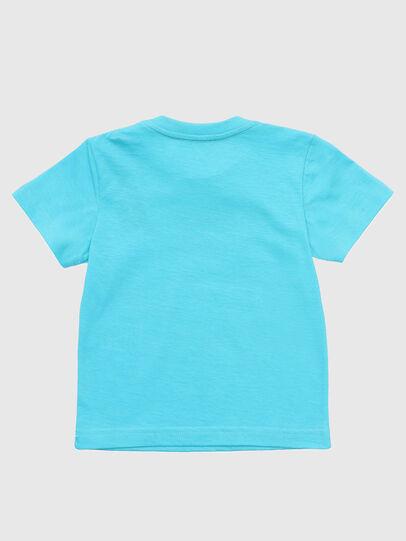 Diesel - TJUSTDIXB, Azure - T-shirts and Tops - Image 2