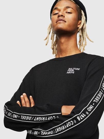 Diesel - K-TRACKY-C, Black - Knitwear - Image 3