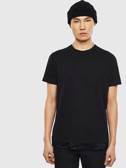 Diesel - T-TEIN, Black - T-Shirts - Image 1