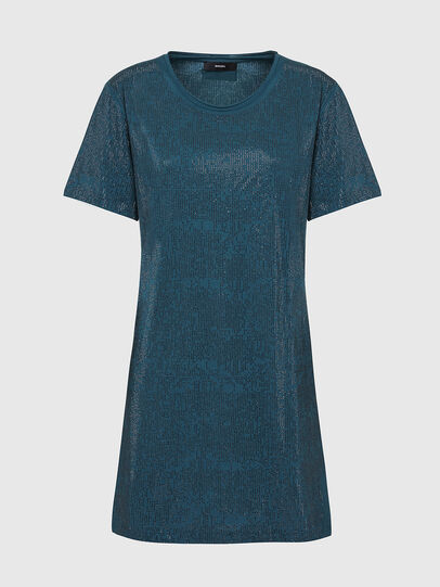 Diesel - D-ARY-E1, Water Green - Dresses - Image 1