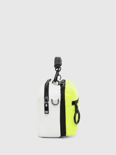 Diesel - FUTURAH, Yellow Fluo - Crossbody Bags - Image 3