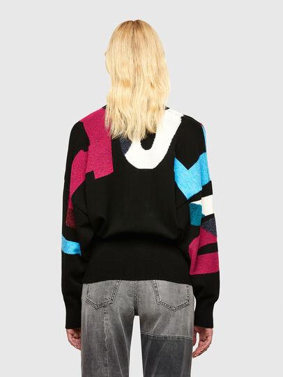Diesel - M-MYSTIC, Black - Knitwear - Image 2