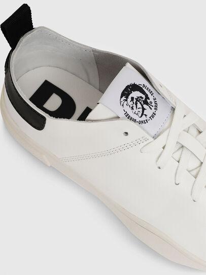 Diesel - S-CLEVER LS, White/Black - Sneakers - Image 4