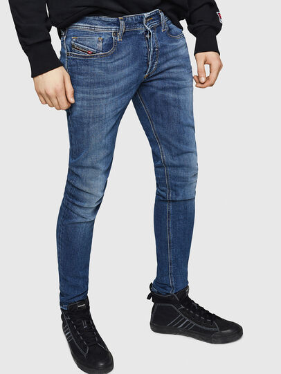 Diesel - Sleenker 069FZ, Medium blue - Jeans - Image 1