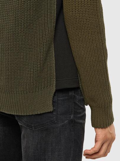Diesel - K-CAREY, Military Green - Knitwear - Image 4