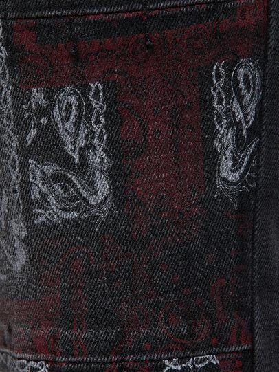 Diesel - D-Amny 009KS, Black/Dark grey - Jeans - Image 4