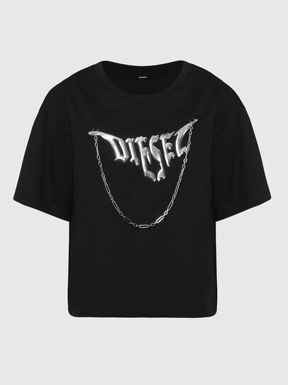Diesel - T-BOWLY, Black - T-Shirts - Image 1