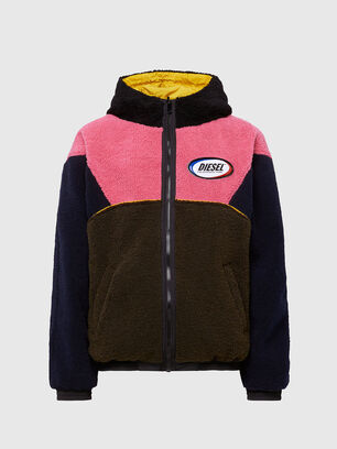 W-ETHAN, Blue/Pink - Winter Jackets
