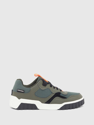 S-RUA LOW SK, Olive Green - Sneakers