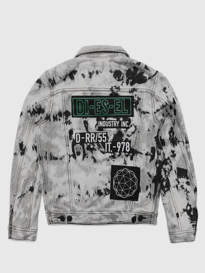 Diesel - JNHILL-SP, White/Black - Jackets - Image 2