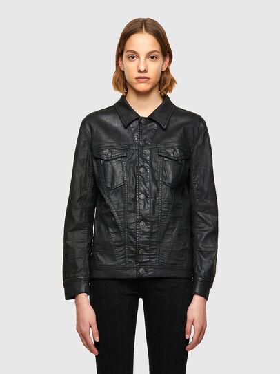 Diesel - D-NALI-SP JOGGJEANS, Black - Denim Jackets - Image 1