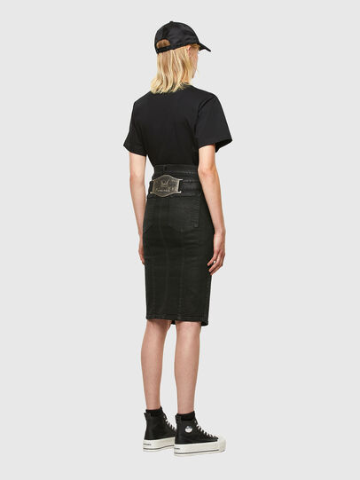 Diesel - DE-FEDY-SP, Black - Skirts - Image 5