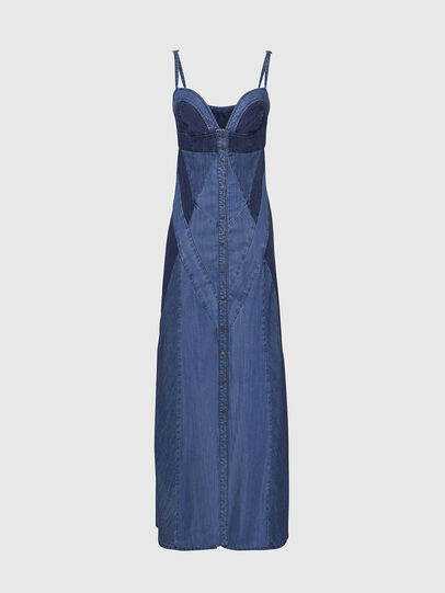 Diesel - DE-ARYNA, Light Blue - Dresses - Image 1