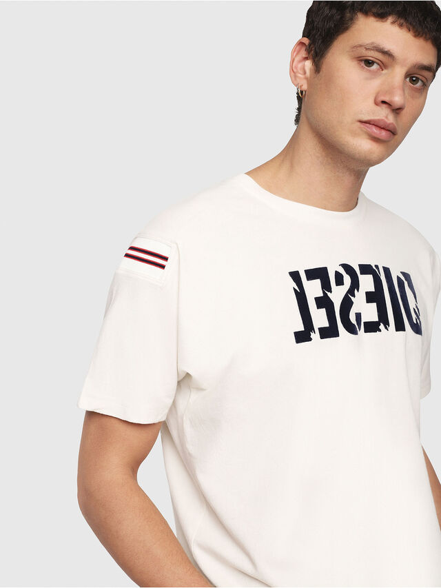 Diesel - T-TRYLL, White - T-Shirts - Image 2