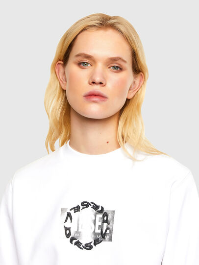 Diesel - F-ANG-R30, White - Sweaters - Image 3