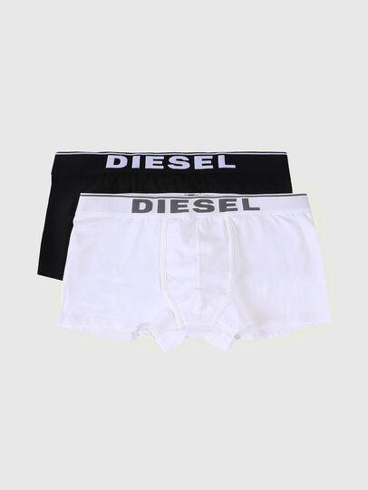 Diesel - UMBX-DAMIENTWOPACK, Black/White - Trunks - Image 1