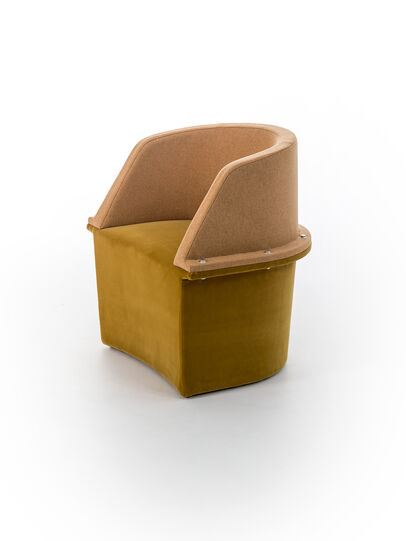 Diesel - ASSEMBLY - SMALL ARMCHAIR, Multicolor  - Furniture - Image 3