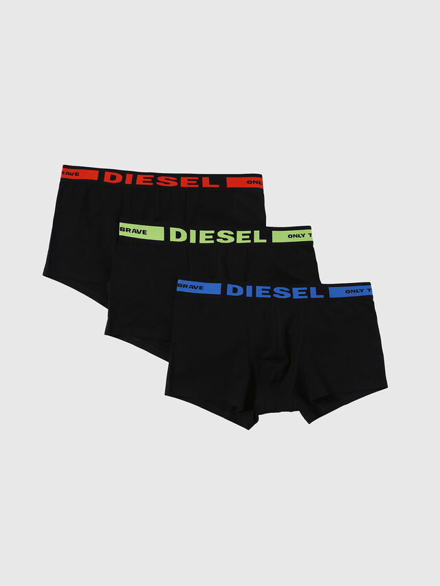 Diesel UMBX-KORYTHREEPACK, Black - Trunks - Image 1
